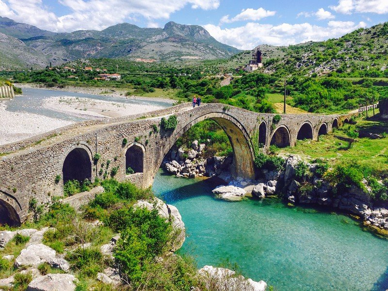 The number of tourists has increased in Albania