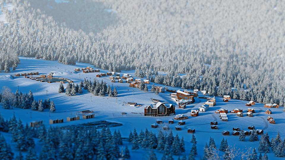 The Goderdzi ski resort attracts more tourists and investors