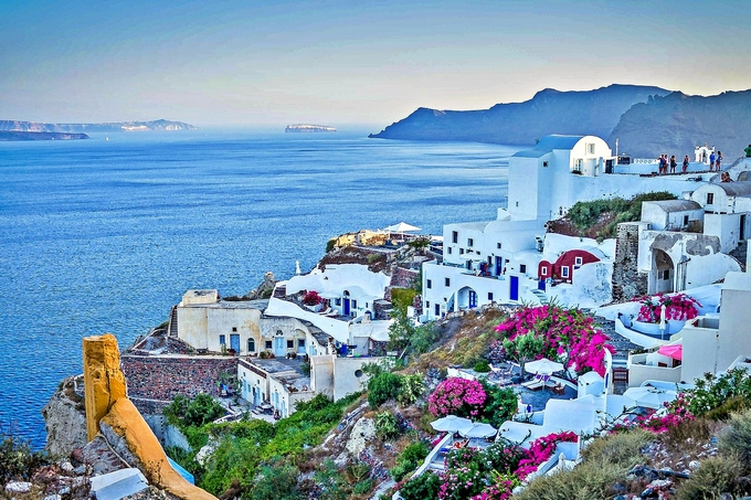 Виллы у моря в греции